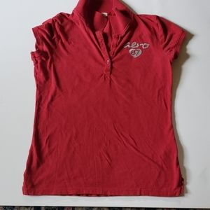 XL red Aeropostale shirt